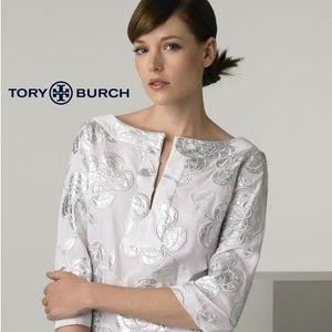 Tory Burch 'Rochelle' Floral Appliqué Top